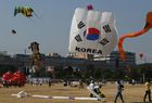 Participants fly kites on first day of the International Kite Festival 2018 in the Indian city of Hyderabad on January 13, 2018. The third edition of the International Kite Festival is taking place from January 13-15. AFP photo