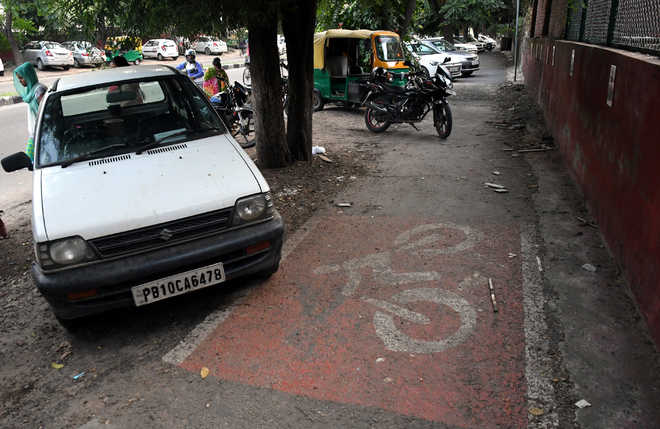 42 held for driving on cycle tracks