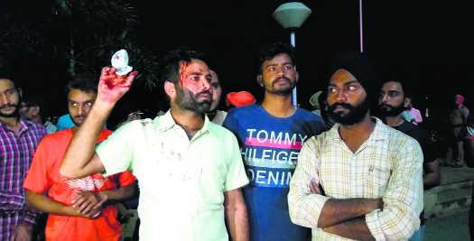 10 hurt in Punjabi University clash