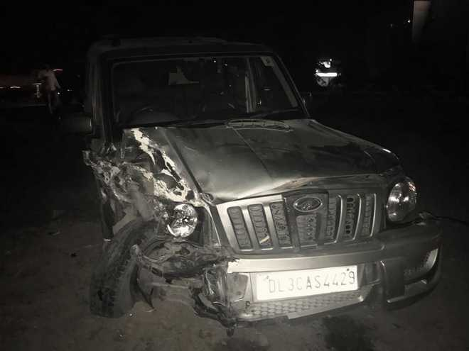 Five hurt in separate road accidents