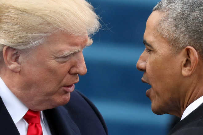 Obama admn was ''impotent'' about South China Sea: Trump