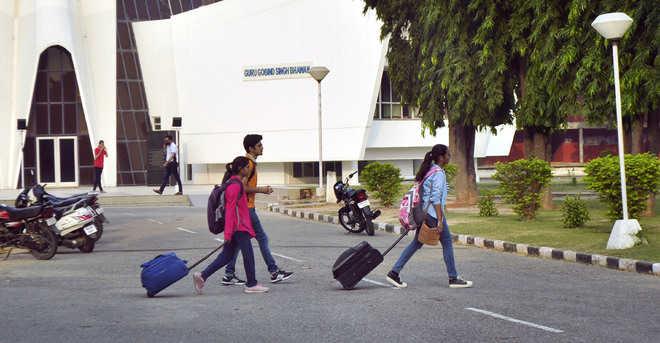 7 booked for rioting on Punjabi varsity campus