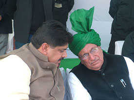 Ruckus at Gohana rally: Chautala removes Dushyant's supporters from key party posts