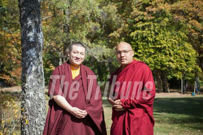 Karmapa holds quiet meetings with rival Thaye Dorje in a first