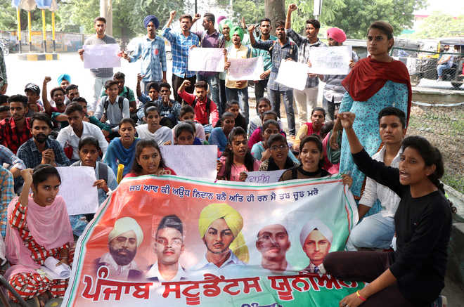 Union protests attack on Punjabi varsity students