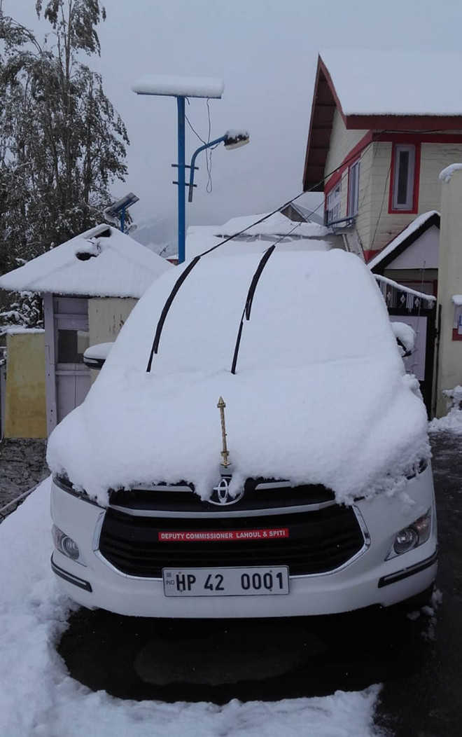Now, potato crop buried under snow in Lahaul