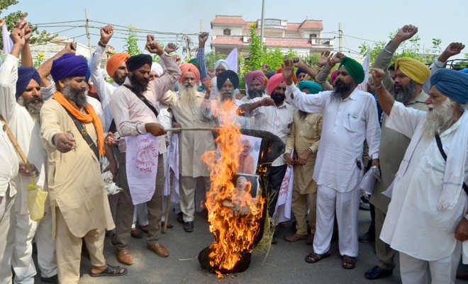 Protest over fertiliser price hike