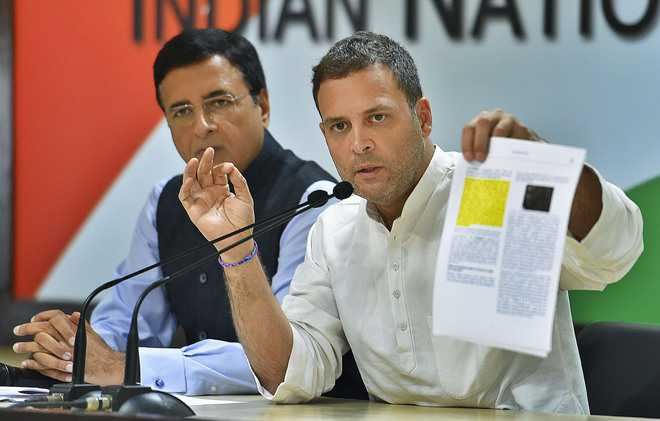 Modi corrupt, must step down: Rahul