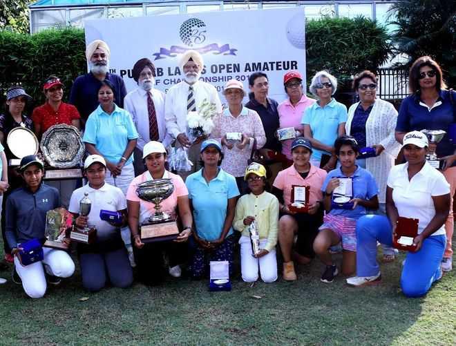 Golfers Hunar, Ira emerge winners