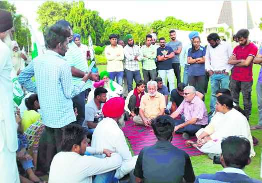Talks with Punjabi University students remain inconclusive