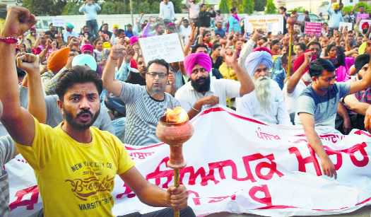 Teachers' protest enters Day 5, deadlock continues