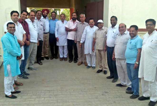 Upset, BJP Malout block leaders meet