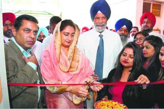 Harsimrat inaugurates skill training centre in city