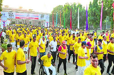 BSF organises 'Run for Martyrs'