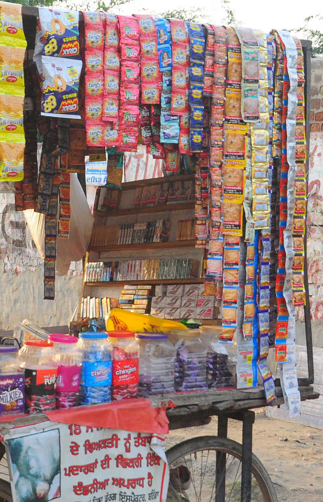 Despite ban, sale of tobacco products goes on