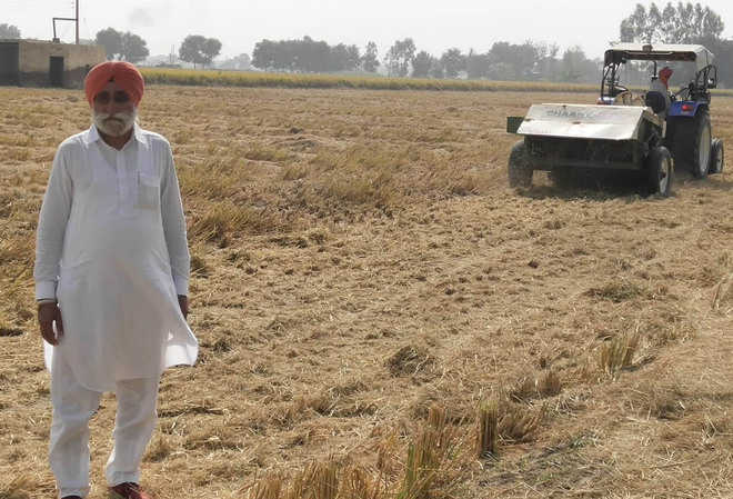 Rampura farmer sets example for paddy cultivators