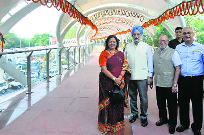 Puri inaugurates Skywalk, FOB