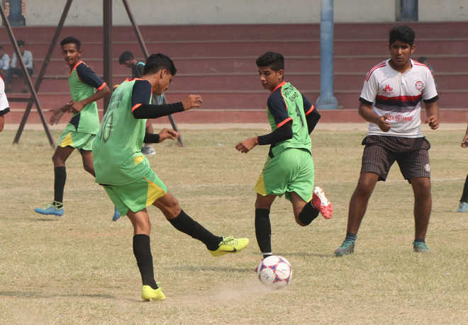 Athletes sweat it out during dist-level games on Day 2