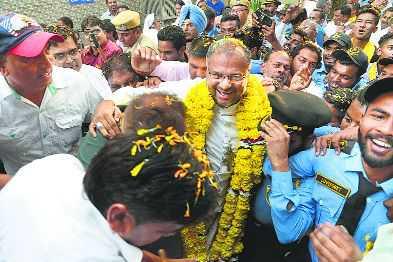 On bail, Jalandhar bishop back, says he's still on post