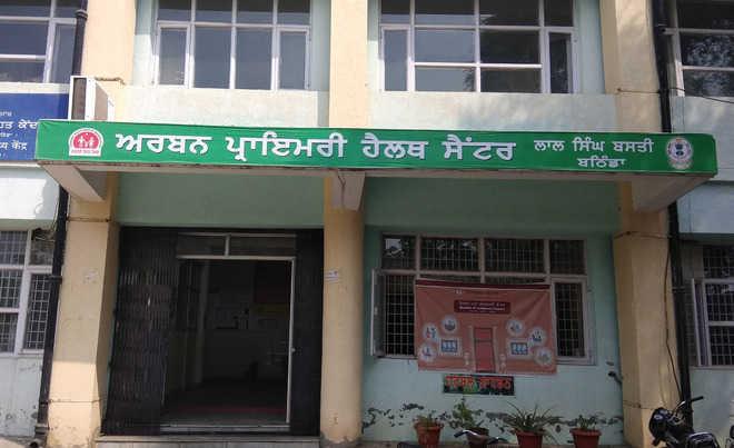Services hit at Lal Singh Basti health centre