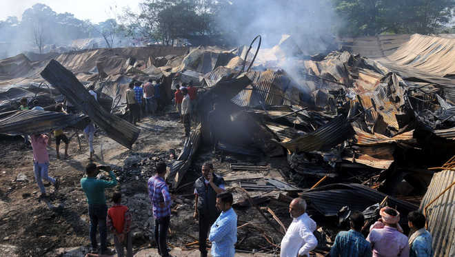 Rs 10-cr furniture reduced to ashes
