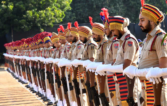 Tributes paid to police martyrs