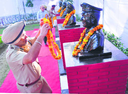 Police remember martyrs on Commemoration Day