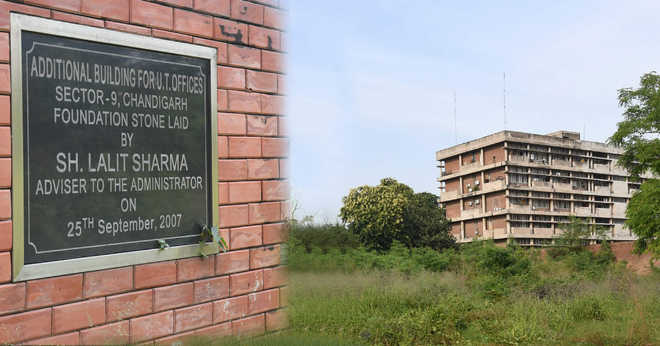 11 yrs on, work to start on UT Secretariat building
