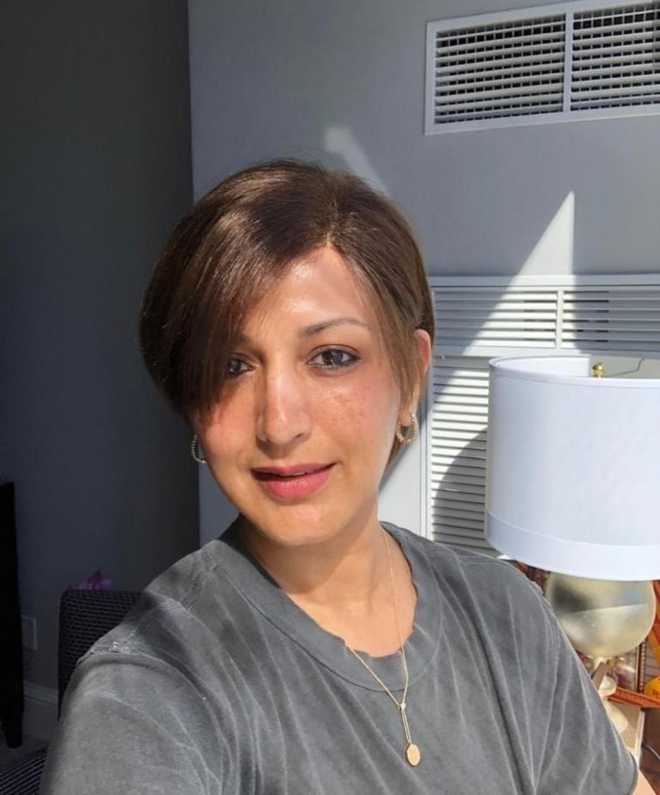 Switch On The Sunshine Sonali Bendre Sports New Haircut