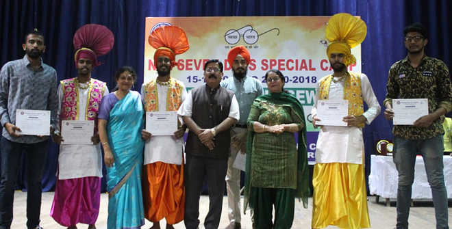 NSS camp concludes at PGGC-11