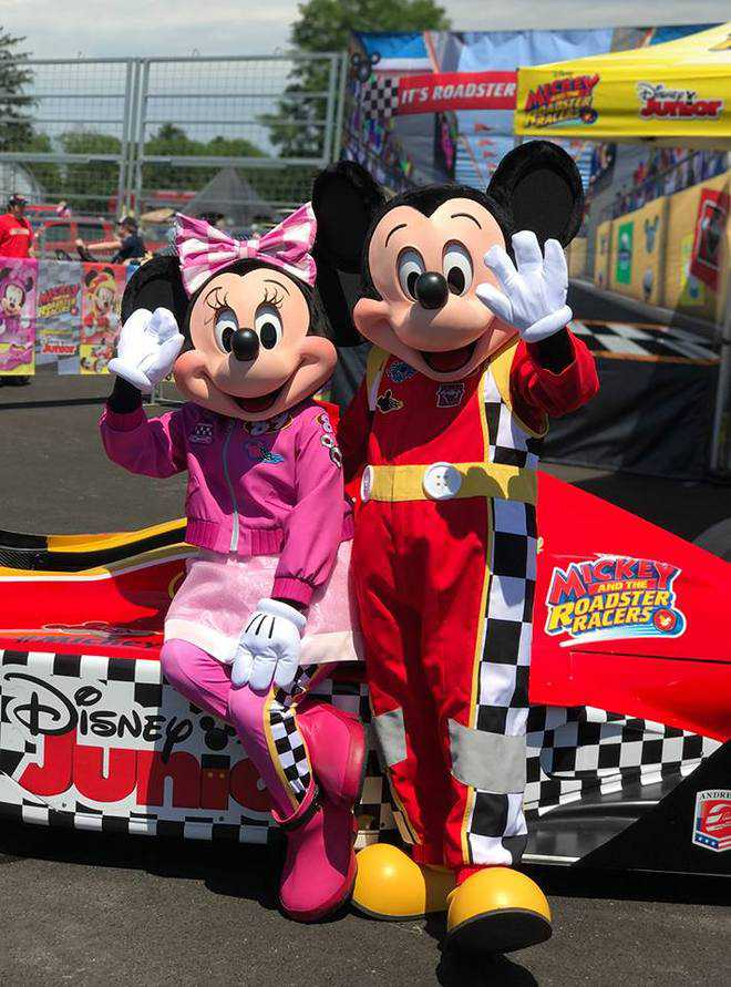 Turning 90, Mickey gets fitter!