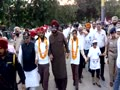 Navjot Sidhu walks blindfolded during 2nd Blind Walk to raise awareness