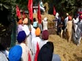 Stubble burning: Farmers protest outside DC office in Bathinda