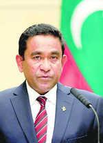 'Disappearing ink' led to my loss: Maldives Prez