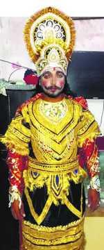 The Ravana who played Rama