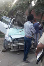 4 killed as car, truck collide on Pinjore-Baddi highway