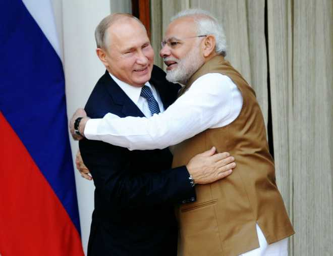 Image result for pics of putin and modi