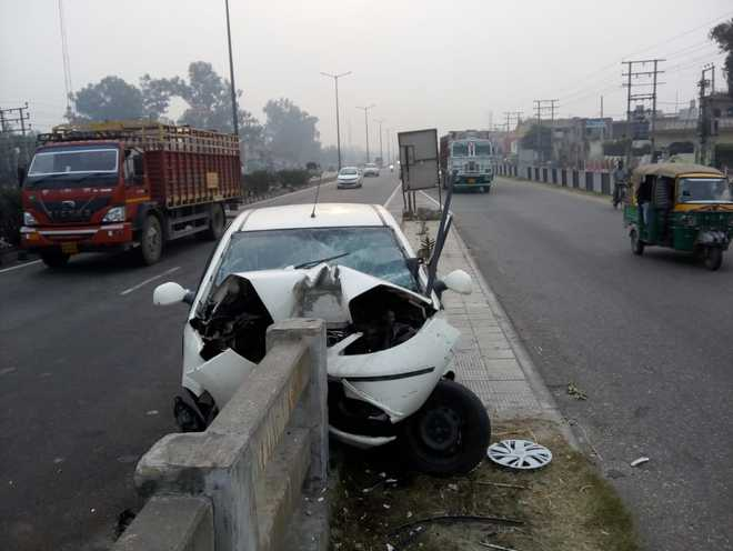 3 youths killed as car collides with road divider in Jalandhar