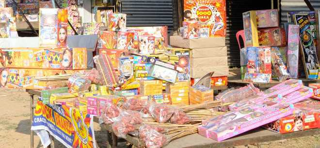 Image result for North Delhi: Crackers seized from three areas