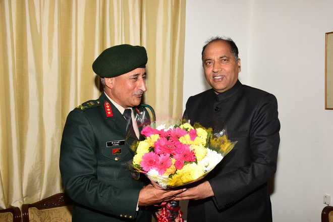 Thakur seeks separate Army battalion for state