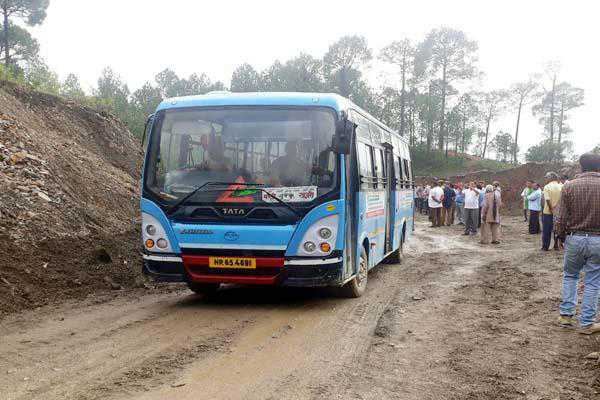 Most roads connecting Kangra dist in bad shape
