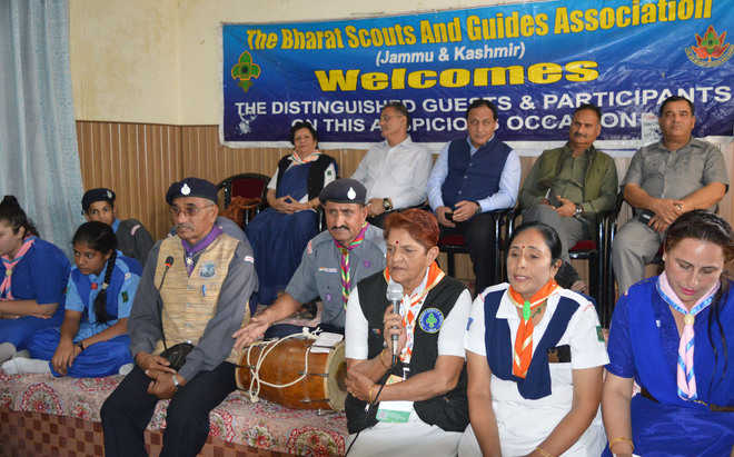 Scouts, Guides celebrate foundation day