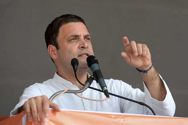 If voted to power, Cong will waive farm loan in 10 days: Rahul