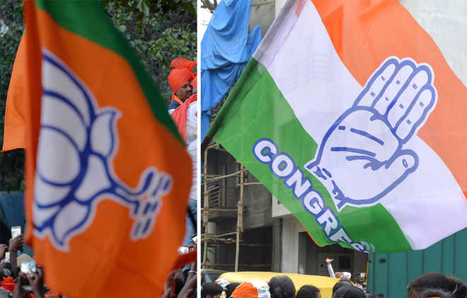 Survey gives thumping majority to Cong in Rajasthan, simple majority in MP