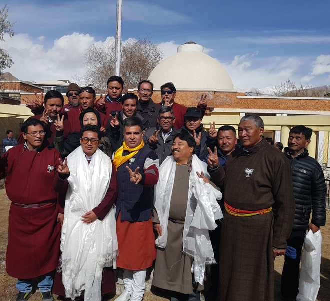BJP elects Namgyal as Leh Council CEC