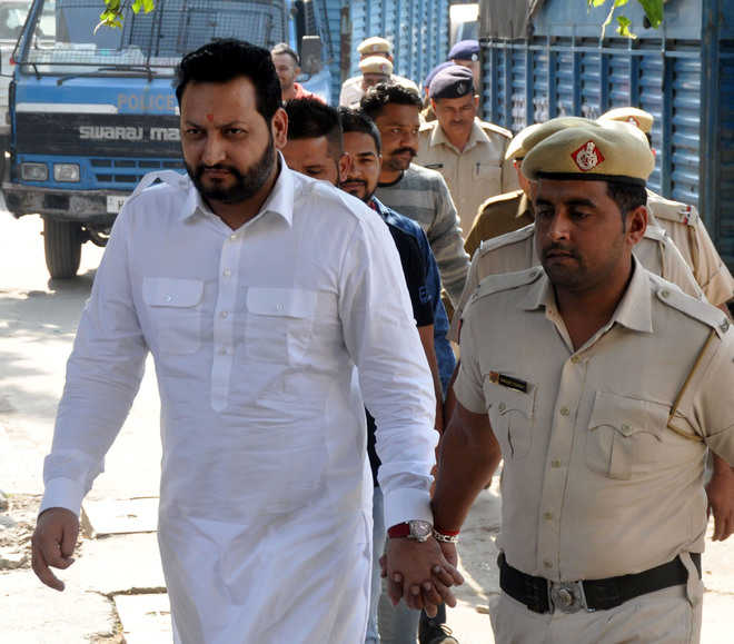Court turns fortress as cops produce 31 accused in Kalka murder case