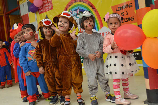 Children S Day Celebrated With Fun And Frolic