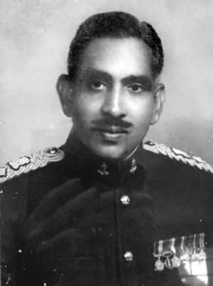 Major Kalaan, in absence of CO, made the enemy retreat