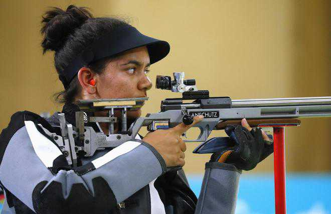 Anjum Moudgil wins gold in shooting nationals
