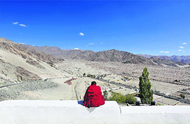 Disillusioned Ladakh seeks to search within